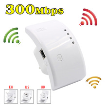 300M 802.11n Wifi Booster Repeater Extender Range EU/UK/US Plug 300Mbps Wireless AP Router