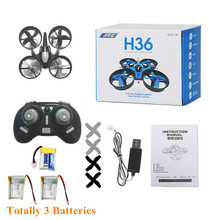 JJRC H36 Mini Nano RC Quadcopter Drone One Key Return Headless Mode RC Quadrotor VS JJRC H8 H20(China)