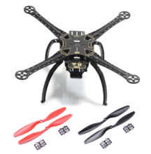 S500 SK500 Upgrade F450 PCB Version Four Axis Qudcopter Frame with Plastic Landing Gear 1045 Propeller For FPV RC Qud Frame