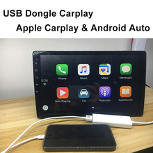 Carlinke USB DONGLE Apple iSO CarPlay Android Auto link with Touch Screen Control for Android Headunit(China)
