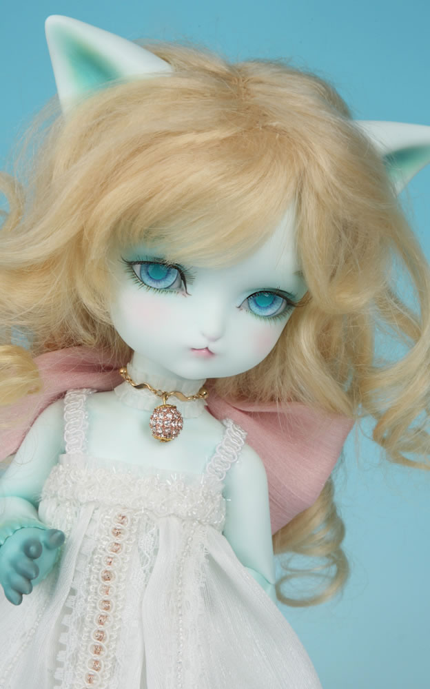 Free shipping !free makeup&amp;eyes included!top quality 1/6 bjd doll toy soom SOOM Isaac blue kitty cat fancy baby model Hobbies <br><br>Aliexpress