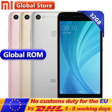 "Original Xiaomi Redmi Note 5A 3GB 32GB Prime Mobile Phone Redmi Note5A smartphone Snapdragon 435 5.5"" 13.0MP Fingerprint(China)"