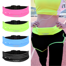 "FLOVEME 5.5"" Universal GYM Waist Bag Running Sport Bags Belt Pouch For iPhone 6s 6 7 Plus iPhone 8 5s Case Cover Phone Accessory(China)"