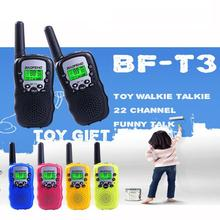 PKR 1,604.98  44%OFF | OLOEY Children Portable Walkie Talkies 2-Way Radio BF-T3 2pcs 3KM Range 8 Channels Kids Baby Child Safe Travel Mini Handheld Toy