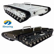 Tank WT500 Big Tank tracked tank car load carry more than 20kg obstacle-surmounting robot parts for DIY tank car Diy Tracked Cra