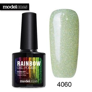 Modelones Gel Polish 10ML Long Lasting Neon UV Nail Lacquer Hot Sale Summer Colors Nail Gelpolish Nail Art Green Led Nail Primer