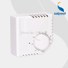 house Room mechanical Thermostat SP-7000B saipwell central air condition temperature control regulator Floor Heating system(China)