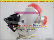 TF035HM 28200-4X650 282004X650 49135 04361 49135 04360 4X650 Turbo For KIA Bongo 3 Truck For Hyundai Passenger Car J3 Crdi 2.9L(China)