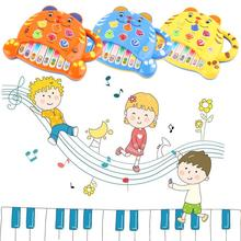 Hot! Children's Cute Tiger Keyboard Music Piano Educational Preschool Toys New Sale(China)
