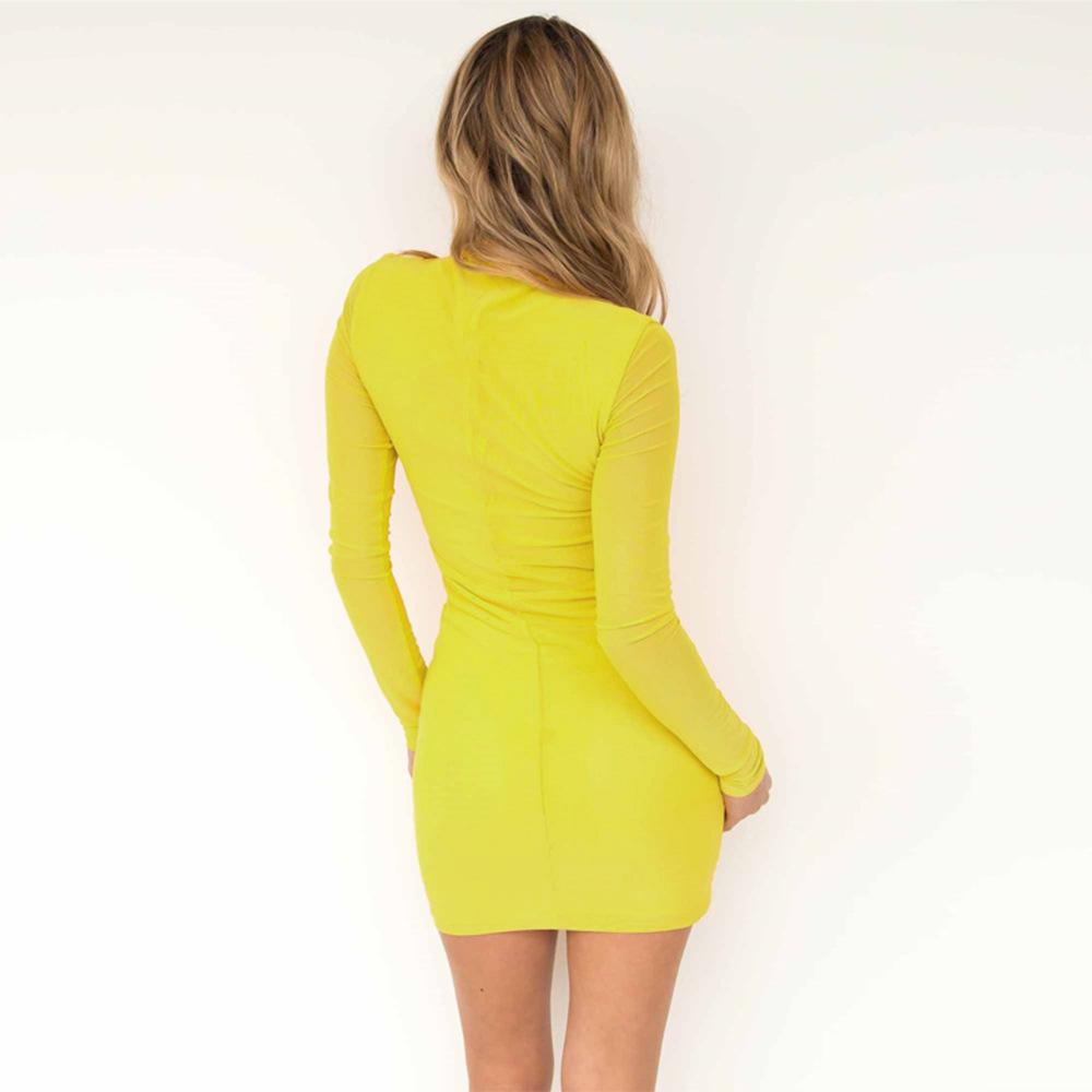 Swaggy HTB1xtymcv6H8KJjSspmq6z2WXXad Langärmliges Slim Kleid