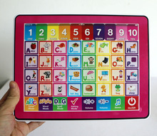 y pad english computer learning education machine,y-pad educational toys for kids,learning & education toys 2 Colors Mixed(China)