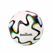 SANKEXING Professional Football Size 5 Training Soccer Ball PU Ball France Standard Soccer Balls Outdoor/Indoor Training(China)