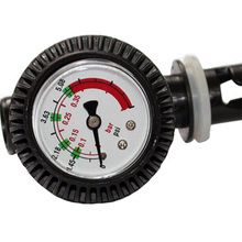 PVC Pressure Gauge Air Thermometer For Inflatable Boat Kayak Air Pressure Valve Connector SUP Stand up Paddle Board Surfing