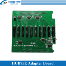 Full Color LED display Conversion Card Hub75E Adapter board Support 1/2, 1/4, 1/8, 1/16, 1/32 Scan(China)