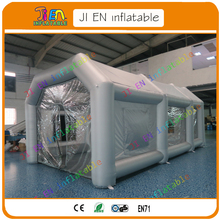 PProfessional Inflatable Spray Tent for car maintenance / portable environmental inflatable car spray booth for sale / car booth