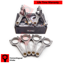 "Connecting Rods Rod for Audi S4 4.2L V8 engine Conrods Con Rod Genuine 5/16"" ARP 2000 bolts 4340 Forged Shot peen Balanced race(China)"