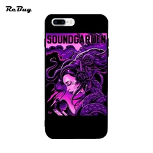 Soft TPU Colorful Covers For Iphone 6/6s/6plus/6s Plus Soundgarden Sydney Australia Tour Grunge Band For Iphone 7/7plus Case