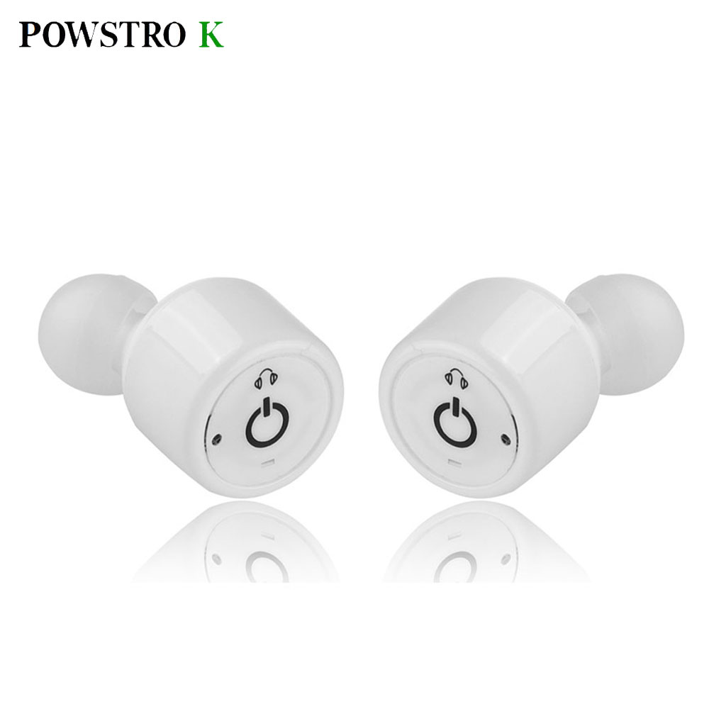 POWSTRO K Wireless Bluetooth headset Mini In-Ear Bluetooh Twins Stereo Sport Mini Earphone For iPhone Samsung Android Phone<br><br>Aliexpress