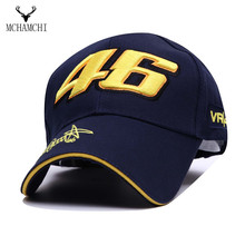 2016 New Design  Racing Cap Car Motorcycle Racing MOTO GP VR 46 RS Embroidery Sport Hiphop Cotton Trucker Baseball Cap Hat