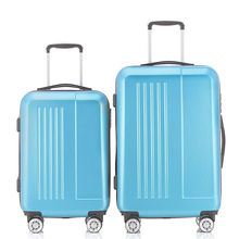 2Piece Hardside Travel Luggage Sets Suitcase 20 24 Rolling Spinner 4 Wheels 4 Colors ABS Lightweight Fochier(China)