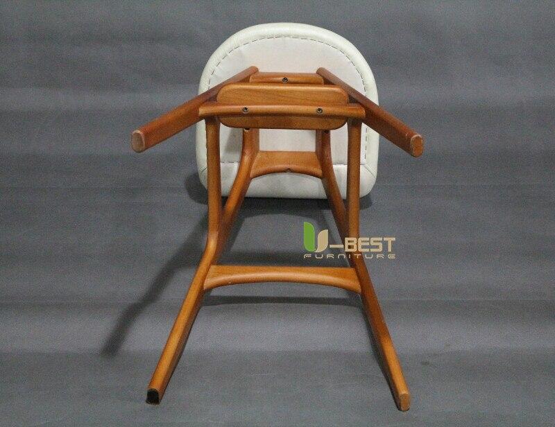 erik buch bar chair counter chair white PU cushion shining u-best furniture (5)