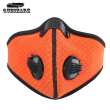 Cycling Mask Activated Carbon Haze Anti-dust Filter Breathable Bicycle Face Cover Protection Bike Antipollution Dustproof Mask