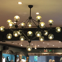 led e27 Iron Glass designer Magic bean LED Lamp LED Light.Pendant Lights.Pendant Lamp.Pendant light For Dinning Room Foyer Store