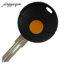 jingyuqin 1 Button Remote Car Key Shell For Mercedes For Benz Smart Fortwo Cabrio City Cross Fob Case Cover