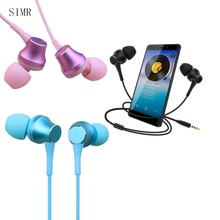 Useful High Quality 3.5mm T3 phone in ear type  black/blue/pink Bass headphones for you