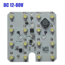 LED Ligh Board 36W Driver Integrated 16 LED Board with Aluminium PCB Board DC12-80V(China)