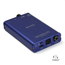 MATRIX Mini-Portable DAC 24bit/192KHz Portable Amplifier Decoder AMP DAC blue