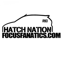 HotMeiNi for Focus hatch nation Sticker & # 60 sticker JDM Drift Honda lowered car window