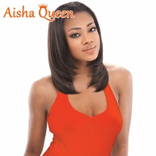Hot selling Natural Color Silky Straight Brazilian Virgin human Hair Short Full Lace Wigs Bleached Knots Bob Wigs With Baby Hair(China)
