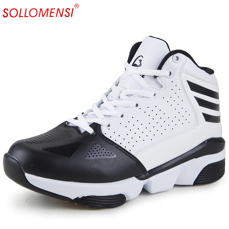 2017 New  women and men basketball shoes Breathable outdoor Athletic shoes zapatos hombre autumn ankle boots basket homme<br><br>Aliexpress