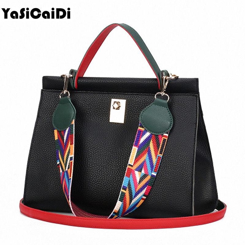 Fashion knitted Diamond PU Leather Womens Shoulder Bag Luxury Famous Designer Black Large Bag Ladies Handbags Bolsos Mujer 2016<br><br>Aliexpress
