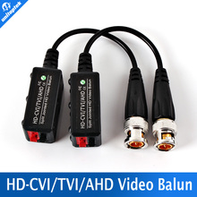 BNC Video Balun Passive Transceiver COAX CAT5 Camera UTP Cable Coaxial Adapter For 200-450m Distance AHD/HDCVI/TVI Camera