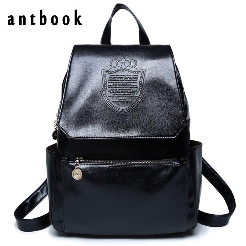 Fashion Preppy Style Women Backpacks Hot Sale Casual PU Leather Bag School Bag For Girl Teenagers Laptop Bag Mochila Rucksack<br><br>Aliexpress