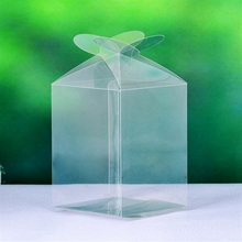 Free Shipping Simple Clear PVC Cupcake Boxes Plastic Cake Box Free Shipping 12pcs PCB006