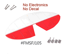 Horizontal Stabilizer for FMS Model 1400mm Pitts EPO RC Aeroplane FMS058