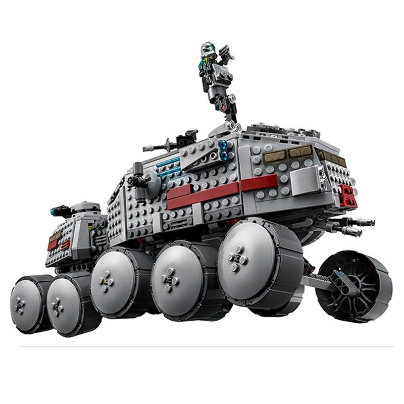 2017 New LEPIN 05031 933Pcs Star Wars Clone Turbo Tank Model Building Kit Blocks Bricks Compatible Kid Toy Gift 75151<br><br>Aliexpress