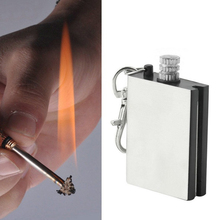 Hot  Sale 1pcs  Worldwide Durable Emergency Fire Starter Flint Match Lighter Metal Outdoor Camping Hiking Instant Survival Tool