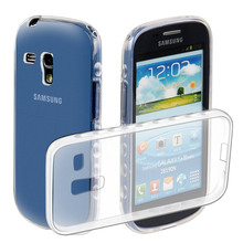 KSQ Luxury transparent TPU Cases for Samsung GALAXY SIII S3 i9300 shockproof Cover for Samsung GALAXY SIII Mini S3 mini I8190N(China)