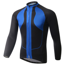 CUSROO 2017 New Winter Thermal Fleece Cycling Jersey Racing Bike Cycling Clothing MTB Cycle Clothes Wear Ropa custom made Jersey