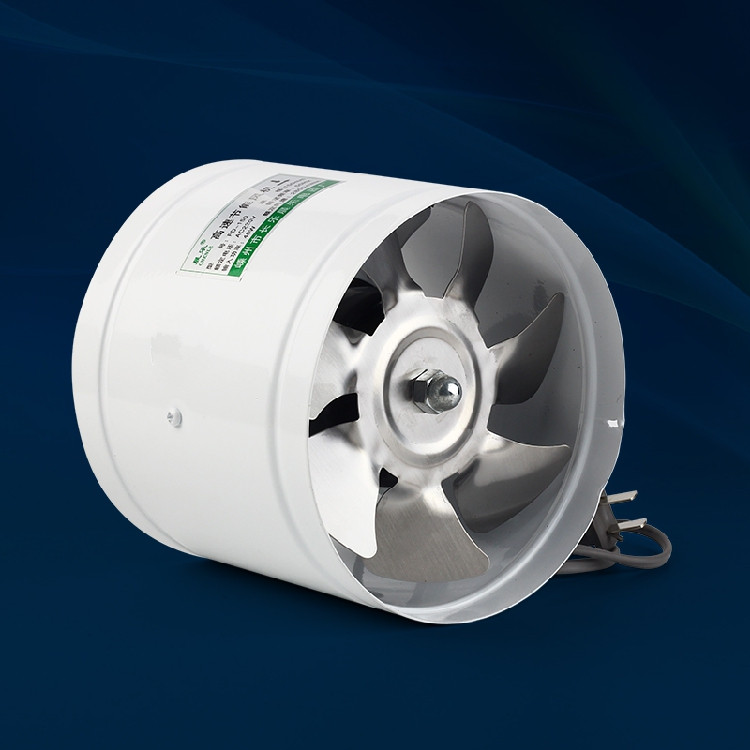 4 inch 4 100mm Kitchen Toilet Wall Circular Exhaust Fan Duct Blower Powerful Mute Axial Flow Fan Ventilator 25W 2800RPM<br>