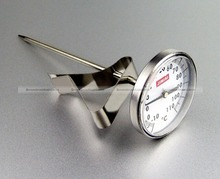ShanghaiMagicBox Craft Stainless Steel Milk Frothing Coffee Jug Pan Clip on Thermometer 40114379