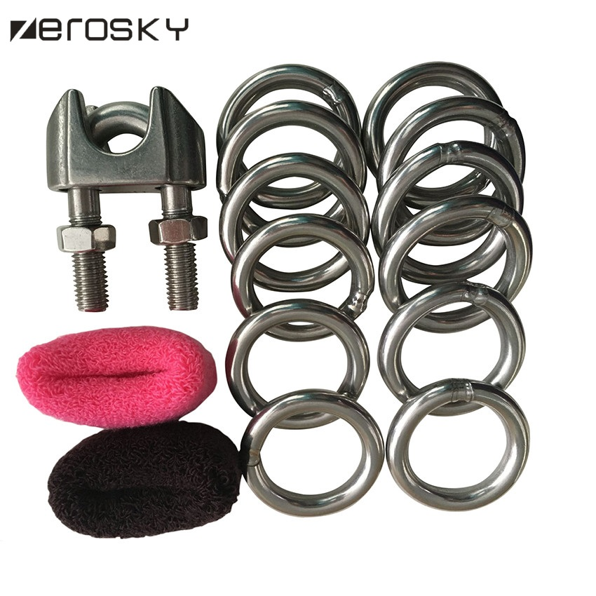 Zerosky Male Penis Enlargers Stretcher Device 12 Rings Proextender Penis Enhancement Experts Pro Extender Device<br>