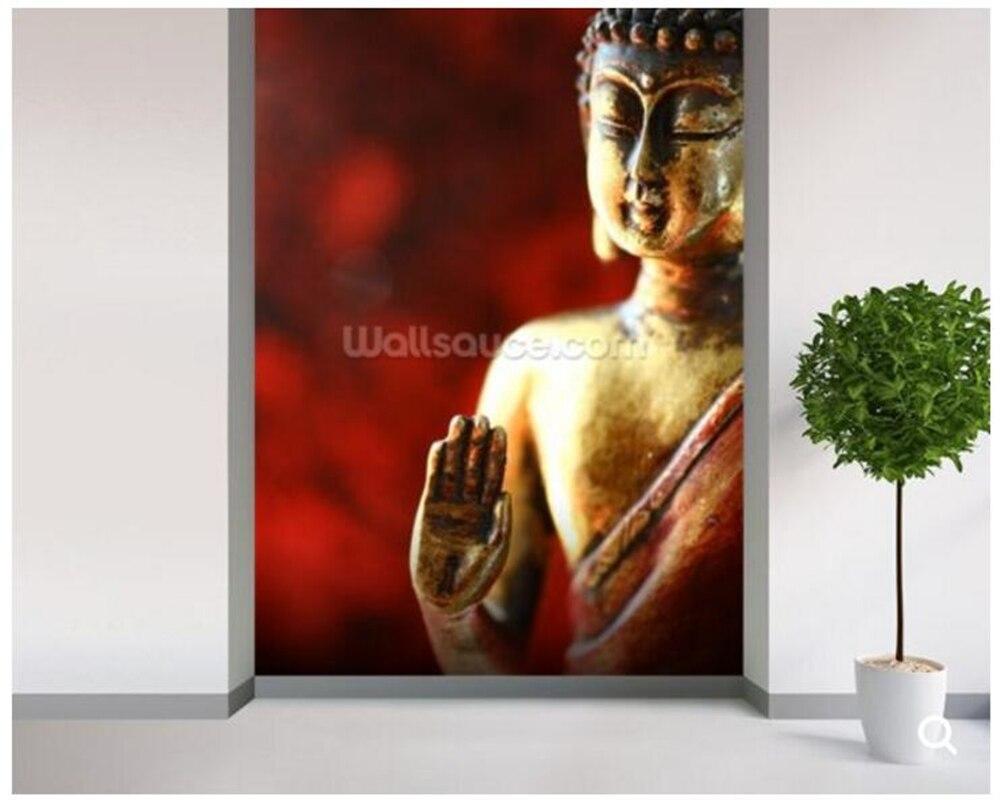 Custom Buddha wallpaper, religious frescoes for living room corridor sofa background wallpaper Decorative papel de parede<br>