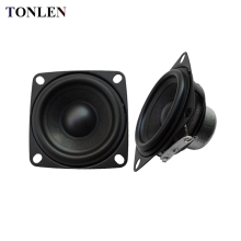 TONLEN 2PCS 2inch 10 W 4 ohm Audio Speaker Full Range Speaker Computer Portable Combination Speakers 52mm Home Theater Subwoofer(China)