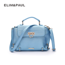 ELIM&PAUL luxury fashion lady crossbody shoulder bag designer handy bags phone wallets small bags bolso mujer famous brand 2017