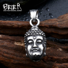 Stainless Man's High Quality China Style Man Titanium Steel Gothic Punk Skeleton Head Pendant For Boy BP8-211